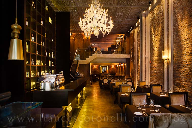 Dining Room at Brasserie Pushkin NYC