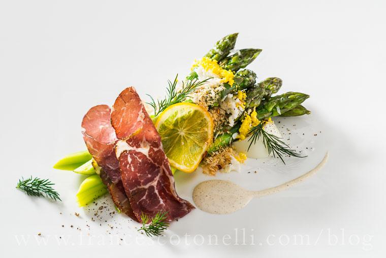 Asparagus With Herbs