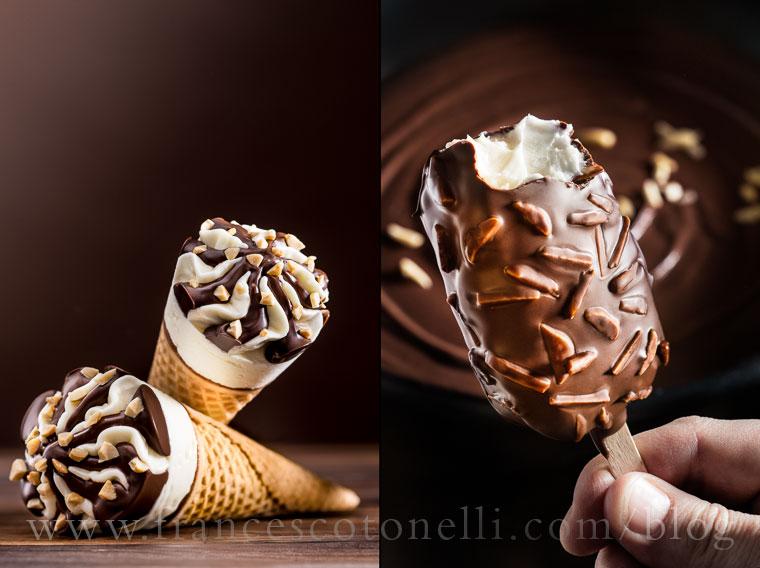 Vanilla Ice Cream Bar