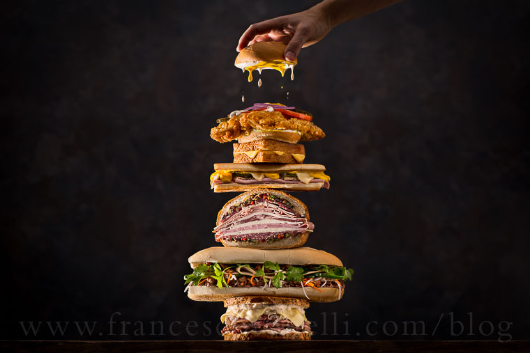 New York Times Stacked Sandwiches