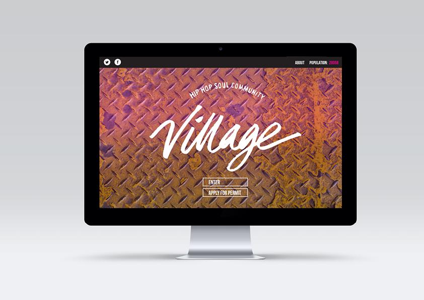 Designs mocked onto computer screen