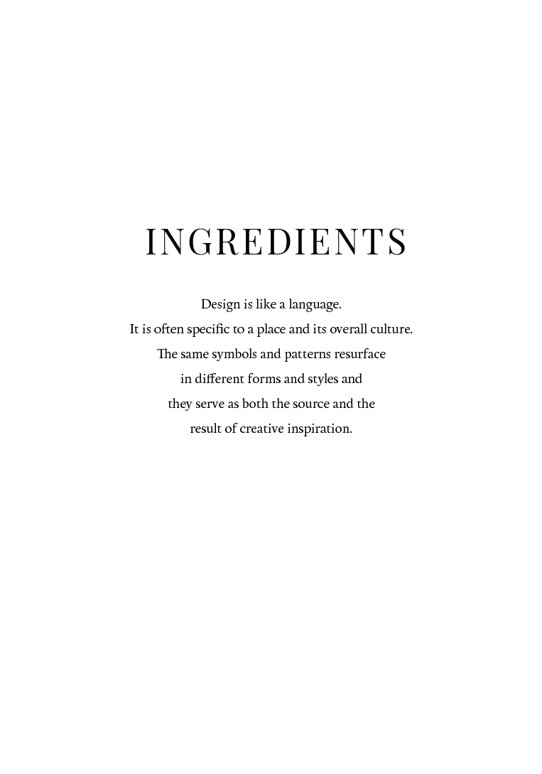 Whilst flicking through an interiors book, you could say that this quote sums up the idea for a planner, i just typeset it here to make it look fancy haha