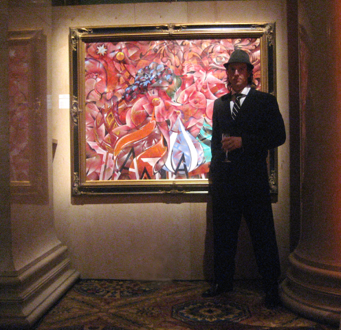 "Cipriani Wall Street. ARTRAGEOUS charity 2010. ""FROM RUSSIA WITH LOVE"""