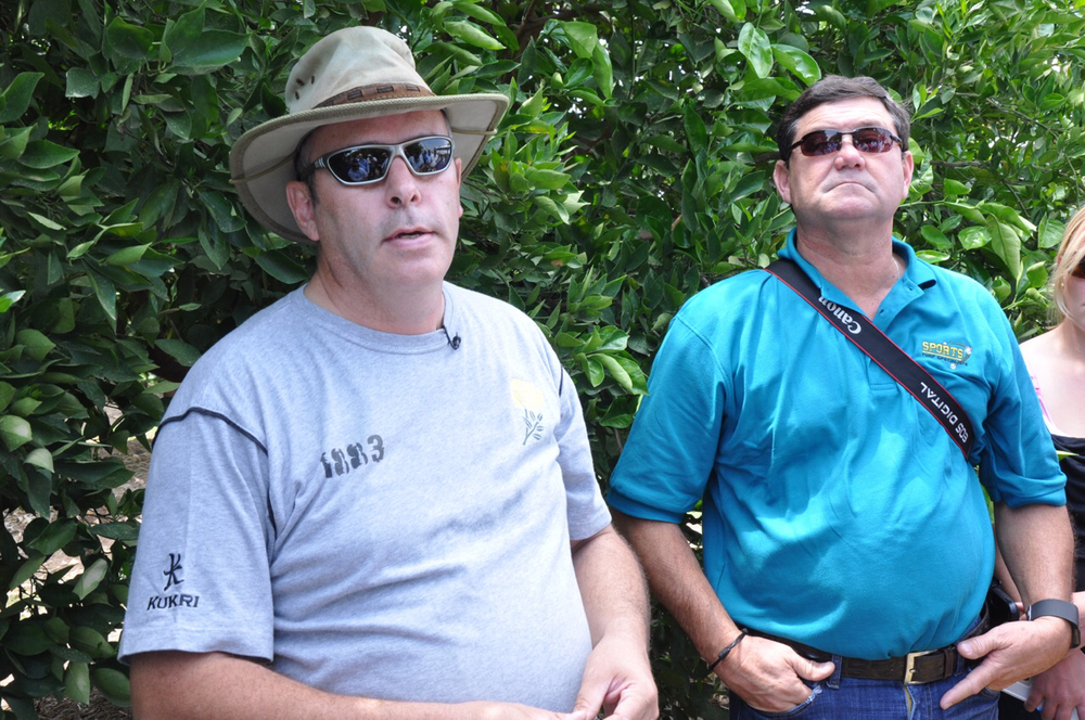 Peter and Troy Romero talk South African citrus.