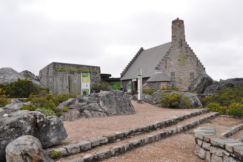 The Shop at the Top! Table Mountain features a shop as well as several paths for explorers.