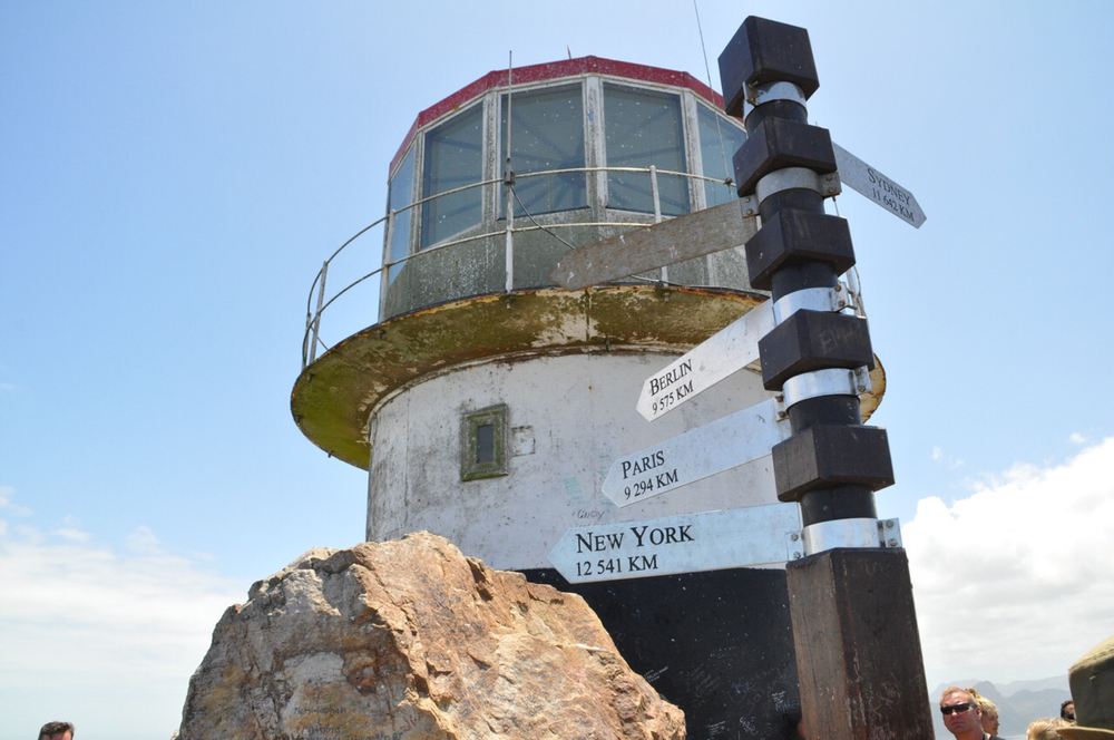 The Cape Point Lighthouse. Opened in 1860 and closed in 1919.