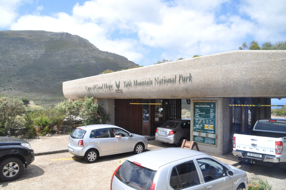 Entrance to Cape of Good Hope Nature Reserve.