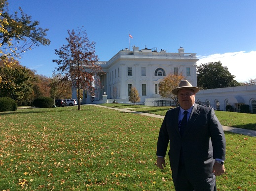 Louisiana Commissioner of Agriculture & Forestry Dr. Mike Strain following his NASDA meeting at The White House.