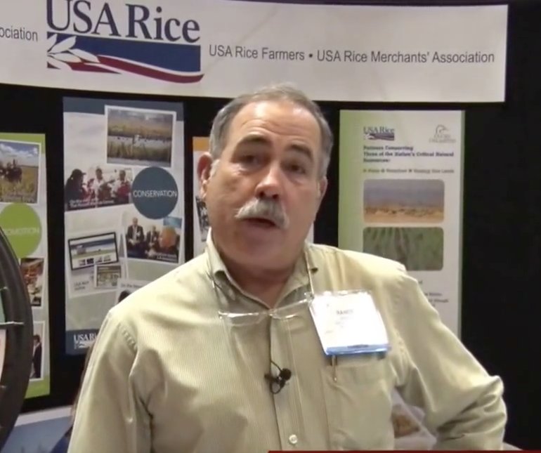 Louisiana's Randy Jemison is retiring from his position with USA Rice.