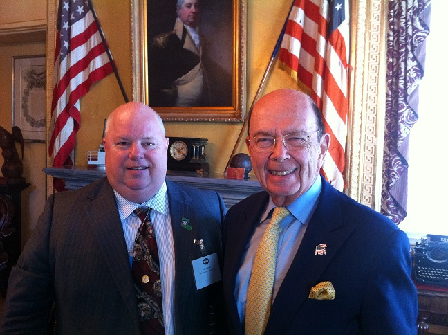 Dr.Mike Strain and Secretary of Commerce Ross