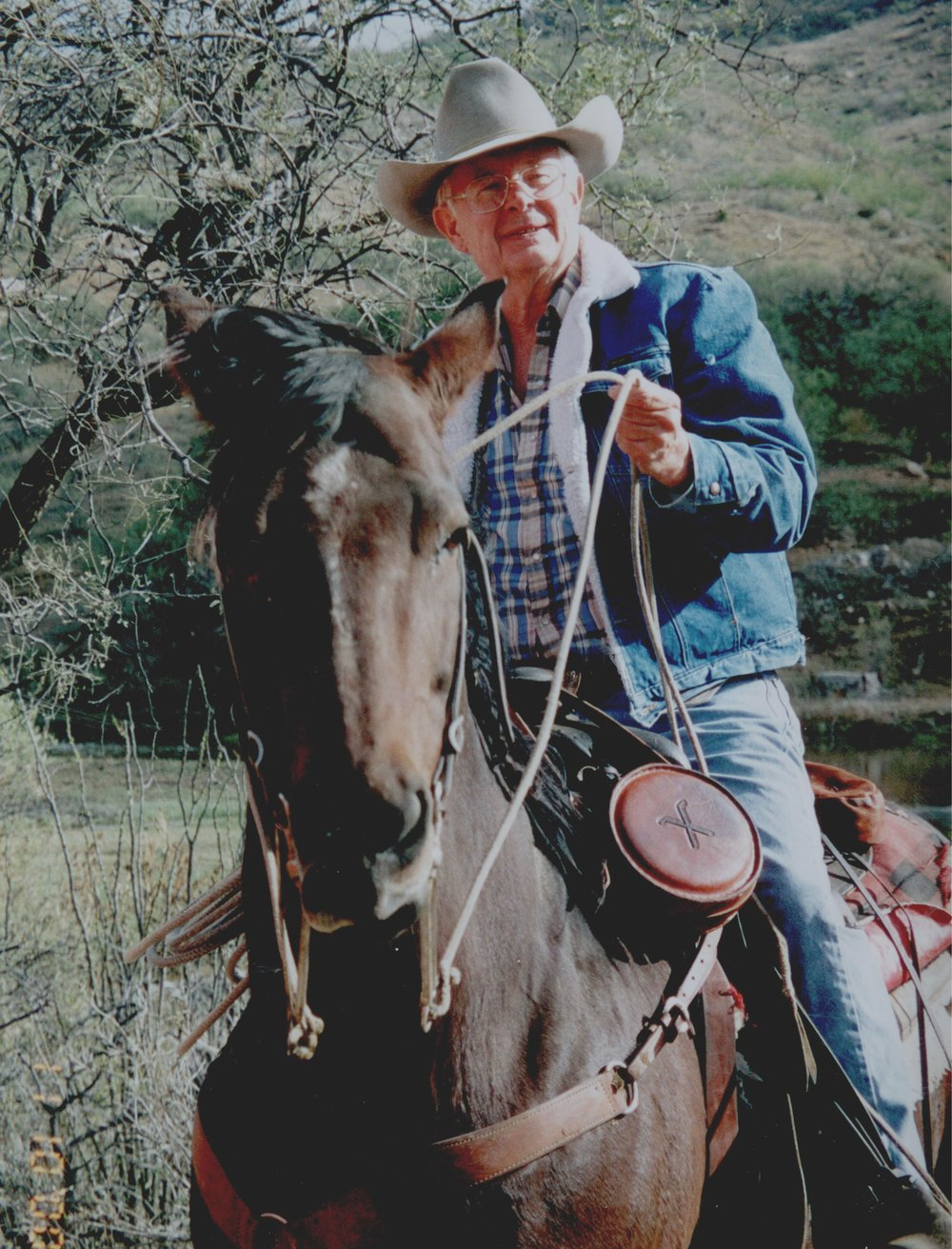 Jim Chilton ranches along the Arizona - Mexico border.  He witnesses hundreds of illegal border crossings each year on his 50,000 acre cattle ranch.