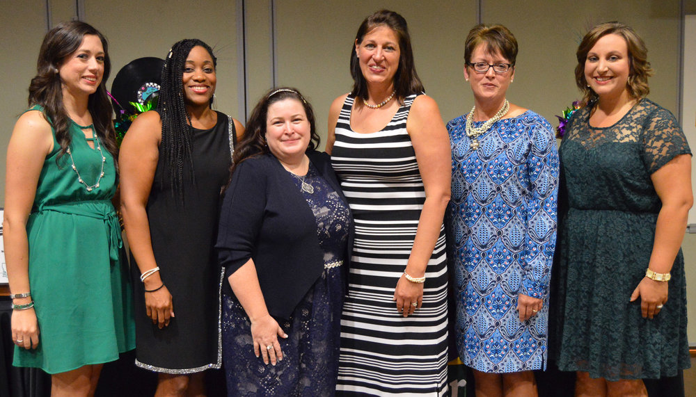 Executive board members serving the Louisiana Association of Extension 4-H Agents for 2017-18 are treasurer Brittany Bourg, of Cameron Parish; president-elect Kim Jones, state 4-H instructor; past president Amy Long-Pierre, of St. Tammany Parish; president Esther Boe, of Avoyelles Parish; reporter Lanette Hebert, southwest region 4-H coordinator; and secretary Hannah Duvall, of St. Martin Parish.