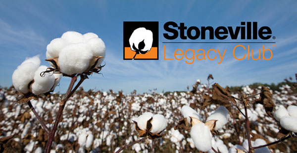 Louisiana cotton growers can qualify for the Stoneville Legacy Club.