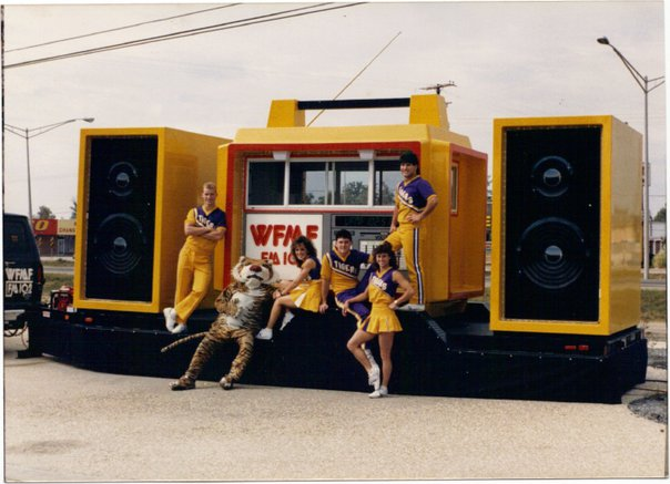 "one of my first jobs in the radio business was to drive ""The world's largest Jam Box"" all over south louisiana. I got the job because of my experience in pulling livestock trailers."