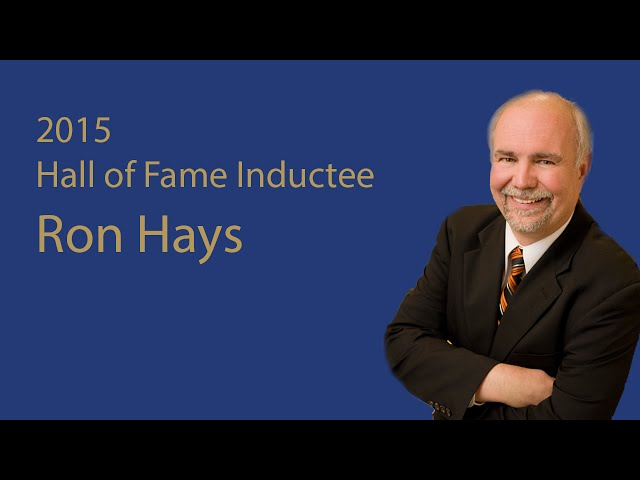 i worked for ron hays at the oklahoma agrinet in the mid-nineties. it was my toughest job ever, but ron taught me more about farm broadcasting than any other mentor i've had. he was a great teacher and a great friend. he is truly a legend in the world of farm broadcasting.