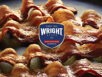 We launched Wright Brand Bacon's first consumer communication, expanding sales to a place where supply has trouble meeting demand.