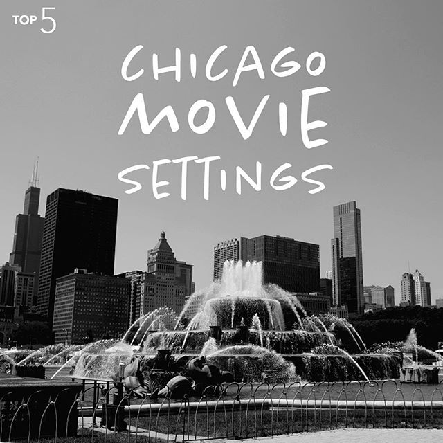 Even if you've never been to Chicago, there's a good chance you've seen it in a movie or five. Stay tuned for the count down of our #Top5 favorite Chicago film locations.