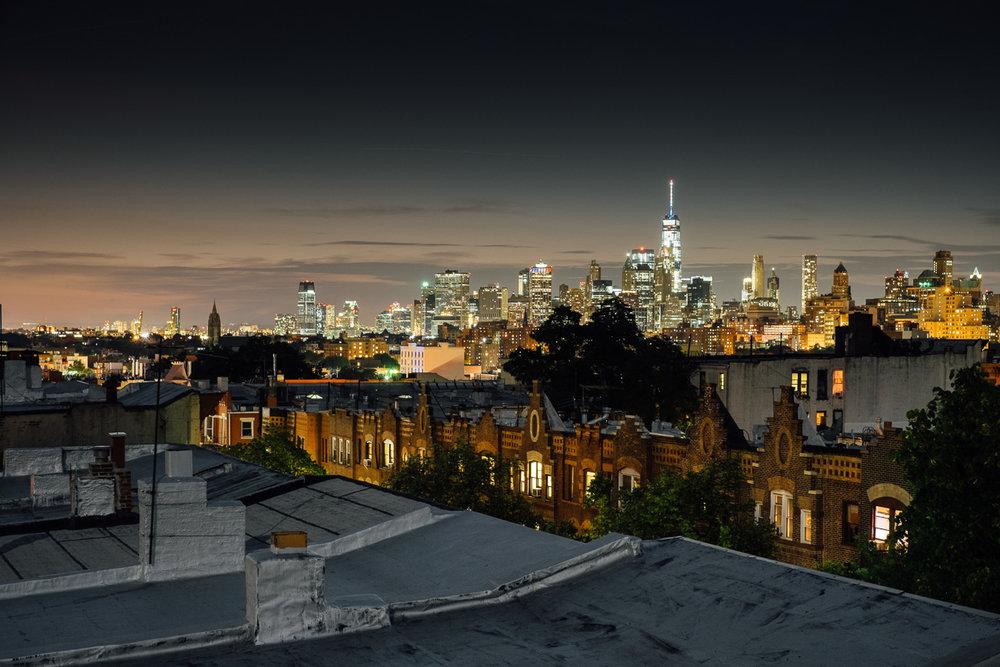 Rooftop in Brooklyn, 2016.