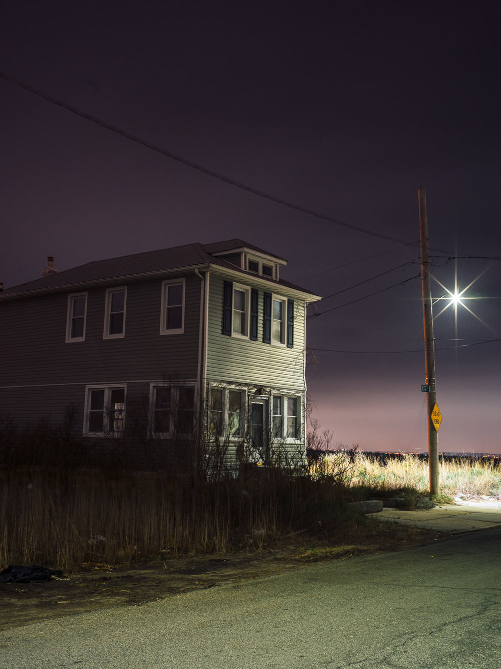 Night Music - (2017 - Ongoing) Images depicting the oddness that is Rockaway, at night.