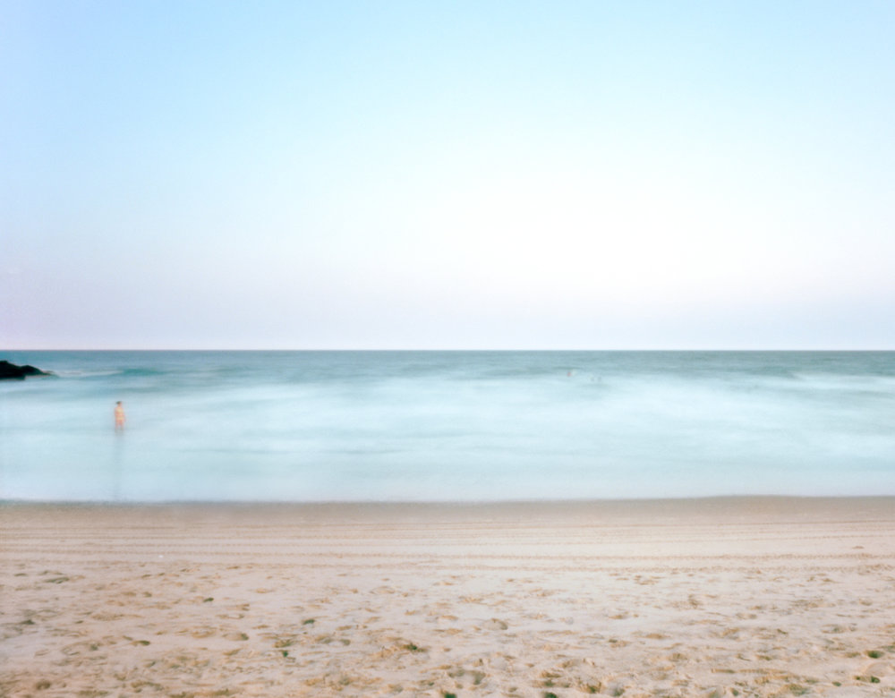 """#16 (Rockaway Beach), 2017.  Large format pinhole image; 60""""H x 75""""W Digital archival pigment print on Hahnemühle Ultra Smooth 305 archival paper."""