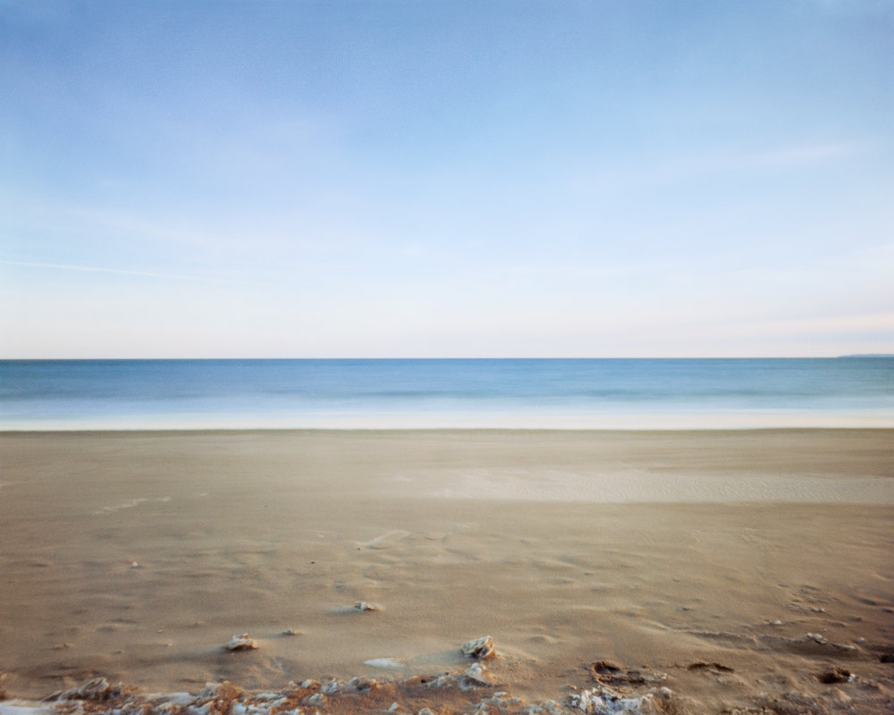 """#2 (Breezy Point), 2017.  Large format pinhole image; 60""""H x 75""""W Digital archival pigment print on Hahnemühle Ultra Smooth 305 archival paper."""
