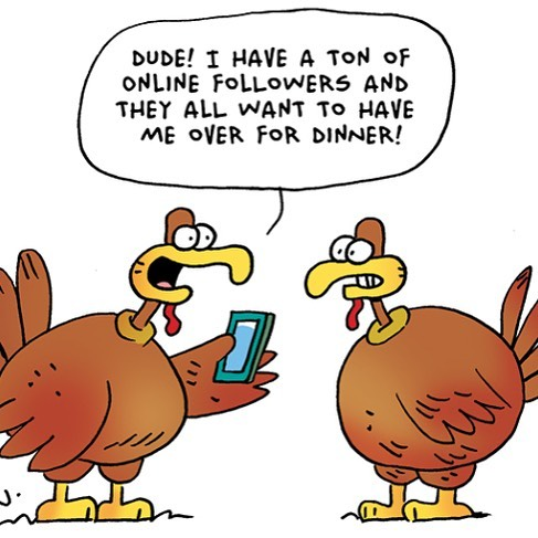 Happy #thanksgiving #digitalmarketing chums!