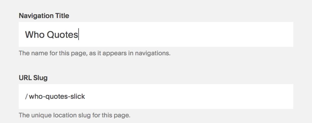 Add -slick to Gallery URL slug to activate