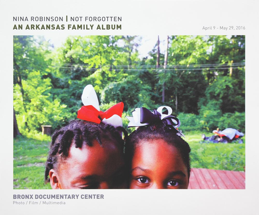 Bronx Doc Center - Nina Robinson // Not Forgotten: An Arkansas Family Album