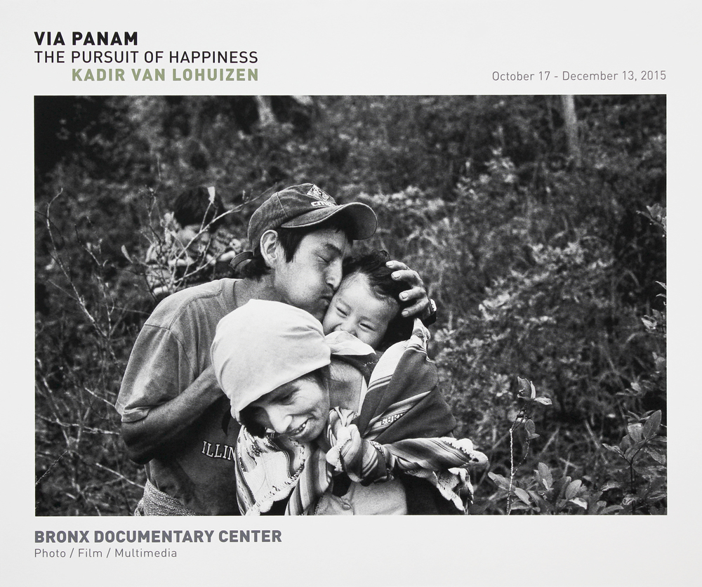 Bronx Doc Center - Kadir Van Lohuizen // Via Panam: The Pursuit of Happiness