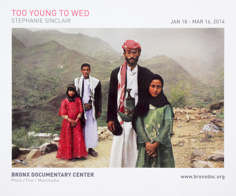 Bronx Doc Center - Stephanie Sinclair // Too Young To Wed