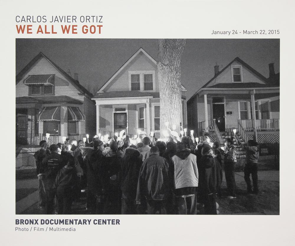 Bronx Doc Center - Carlos Javier Ortiz // We All We Got