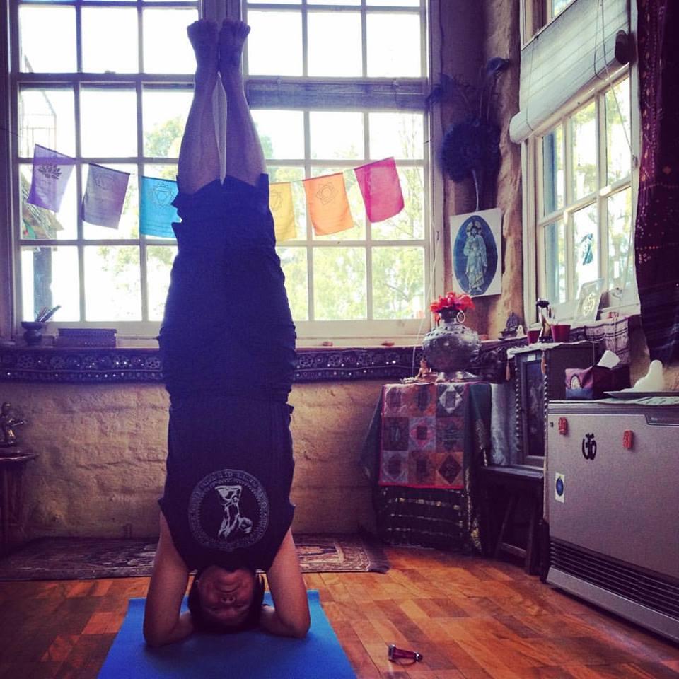 sirsasana headstand yoga asana