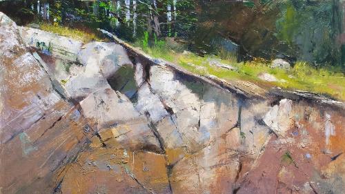 Rock Ledge [cropped]/ 2011 / Albert Handell