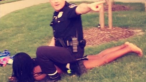 Officer Casebolt,Dejerria Becton / McKinney, Texas / June 2015