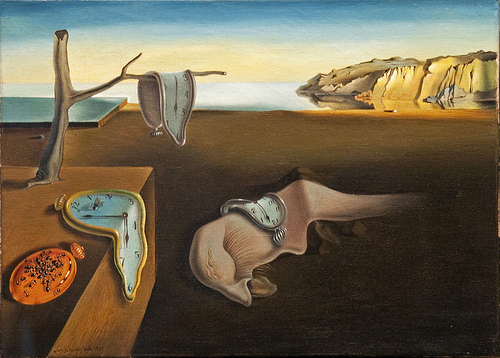 The Persistence of Memory, Salvador Dali. 1931. Image reproduced under CC2 Attribution Only Non-Commercial License.