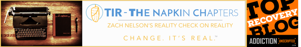 The Napkin Chapters by Zach Nelson Header Image