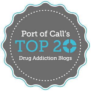 Port of Call Top Addiction Recovery Blogs Badge