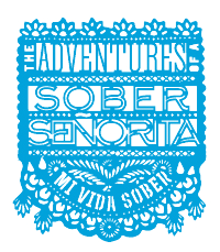 Adventures of a Sober Senorita Logo