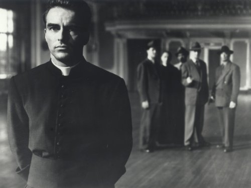 Image in Public Domain (Priest 1950s Movie) Wrath Anger Changing Transformation