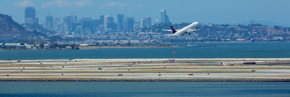 Image of San Francisco International Airport (Source)