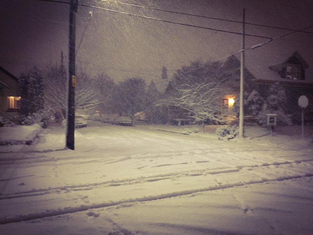 Portland 2017 Winter Storm