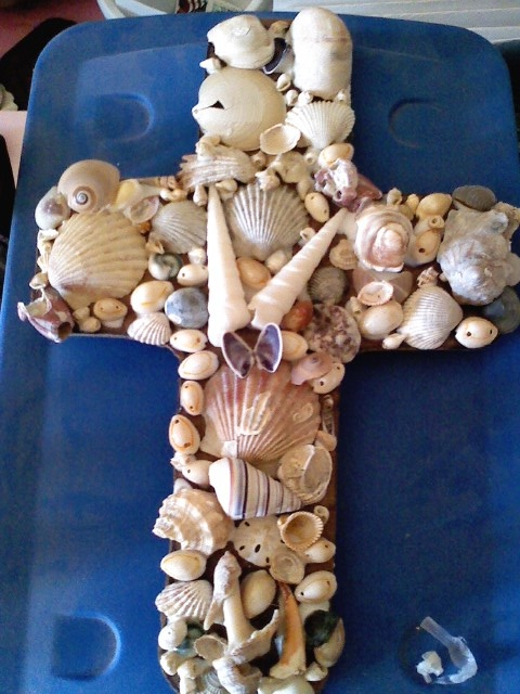 Transformation of a Cross through Shells