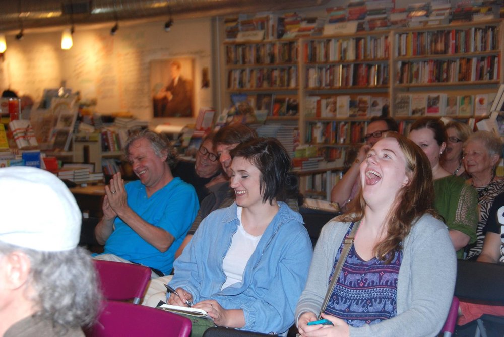 Great Crowd at Book Event in Minneapolis