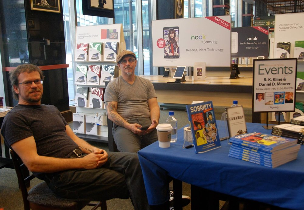 Barnes & Noble Book Event in Downtown Minneapolis
