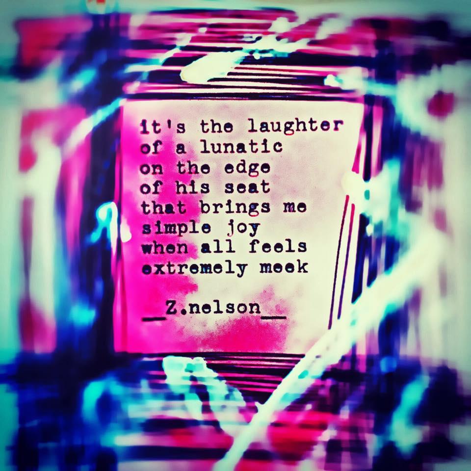 Of a lunatic...