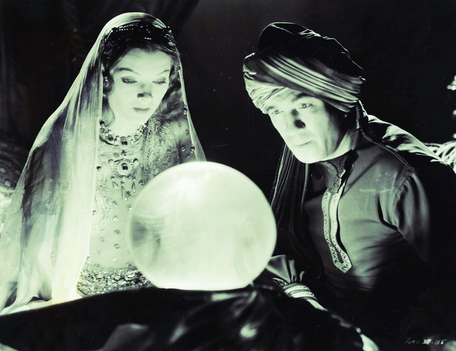 Crystal Ball Vintage Photo CC0 (No attribution required.)