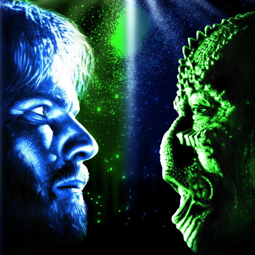 Enemy Mine Movie Poster