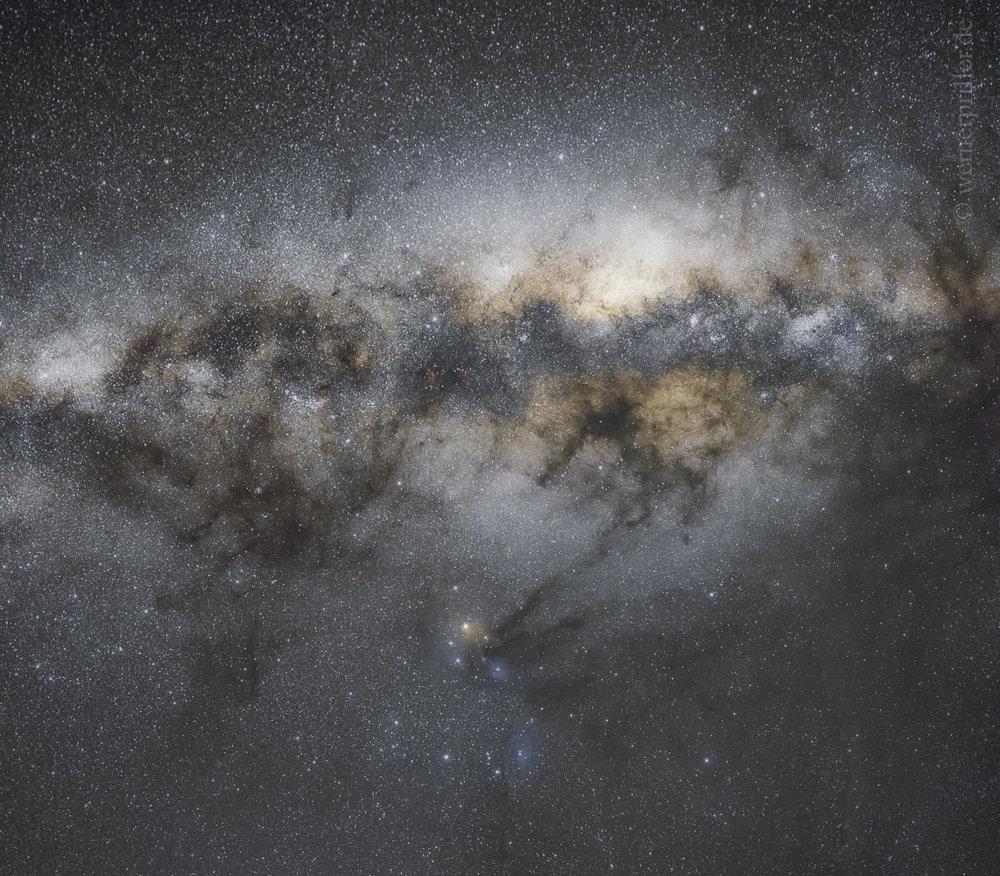 Zentrum der Milchstraße  Center of the Milkyway