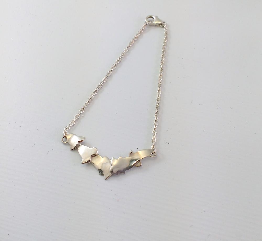 Silver Ivy Bracelet $110