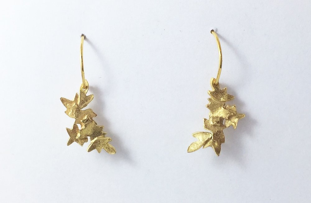 Gold plate mini Blossoms $190